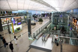 Chek Lap Kok International Airport Hong Kong