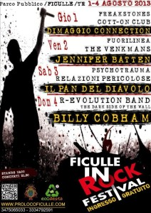 Ficulle in rock festival 2013