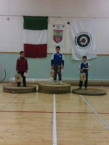 podio-gara-spoleto-interamna-archery-team