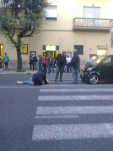 incidente viale Curio Dentato (2)