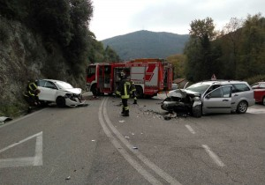 incidente Narni bivio Flaminia
