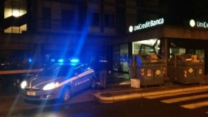 unicredit bancomat polizia