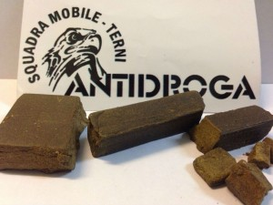 hashish sequestrato a minorenne