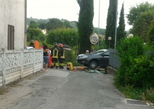 incidente uomo investito