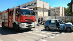 incidente via Radice