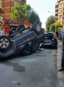 incidente via XX Settembre 4