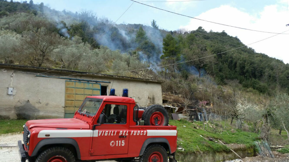 incendio Ferentillo